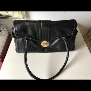 MICHAEL KORS black Leather Bag